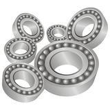 Roller bearings Royalty Free Stock Image