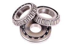 Roller bearings Royalty Free Stock Images