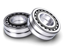 Roller bearings Stock Images