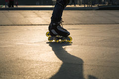 Roller blade Stock Images