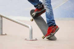 Roller blade park #3 Royalty Free Stock Images