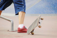 Roller blade park #6 Royalty Free Stock Image