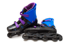 Roller blades stock photo