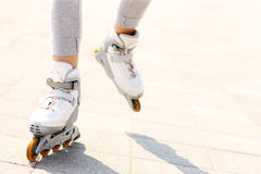 Roller blades Stock Photos