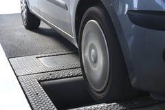 Roller brake tester Stock Photography