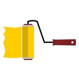 Roller brushes - illustration Stock Photo