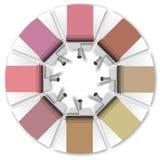 Color scheme Royalty Free Stock Photos