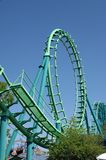 Roller Coaster 1. Large roller coaster on bright clear day Stock Image