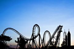 Free Roller Coaster Stock Photo - 12439970