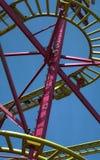 Roller coaster 2 foto de stock