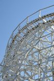 Roller Coaster 2. Large roller coaster on bright clear day Royalty Free Stock Images