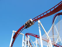 Roller-coaster Royalty Free Stock Photography