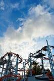 Roller coaster Royalty Free Stock Photos