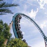 Roller coaster; Imágenes de archivo libres de regalías