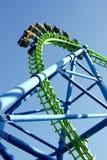 Roller coaster Fotografía de archivo libre de regalías