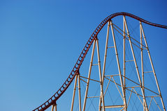 Roller Coaster Royalty Free Stock Images