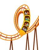 Roller Coaster stock illustration