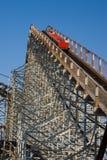 Roller coaster fotografia de stock royalty free