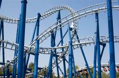 Roller coaster Foto de archivo
