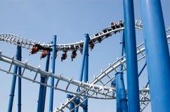 Roller coaster Imagem de Stock Royalty Free
