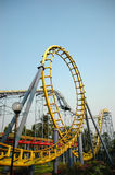 Roller coaster. In ancol, indonesia Stock Photography
