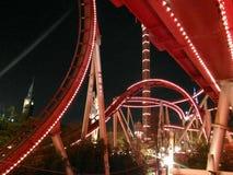 Roller coaster Fotografia de Stock