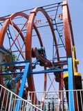 Roller coaster. In a park Stock Image