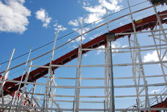 Roller coaster Foto de Stock