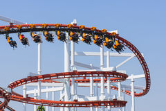 Roller coaster. Stock Images