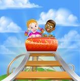 Roller Coaster Amusement Park Royalty Free Stock Image