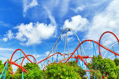 Roller Coaster . Royalty Free Stock Images
