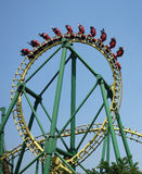Roller coaster. In chengdu happy valley,China royalty free stock image