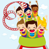 Roller Coaster Children Royalty Free Stock Image