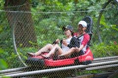 Roller coaster at Datanla waterfall, Dalat, Vietnam Royalty Free Stock Photo