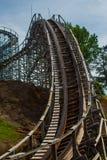 Roller Coaster Descent royalty free stock photos