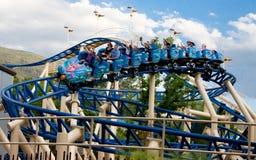 Roller coaster di Bombora Immagini Stock