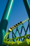Roller coaster di velocità Fotografia Stock Libera da Diritti