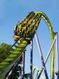 Roller Coaster drop Stock Image
