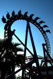 Roller coaster em Tailândia Imagem de Stock