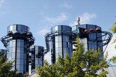 Roller coaster en Europapark Fotografía de archivo libre de regalías