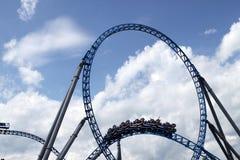 Roller coaster en Europapark Fotografía de archivo