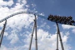 Roller coaster en Europapark Imágenes de archivo libres de regalías