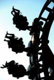 Roller coaster en Tailandia Imágenes de archivo libres de regalías