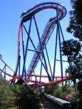 Roller coaster enorme foto de stock royalty free