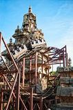 Roller Coaster in Eurodisney Royalty Free Stock Photos