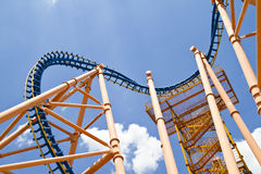 Roller coaster fraction Stock Photos