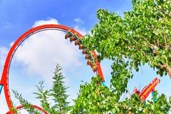 Roller Coaster . Stock Photo