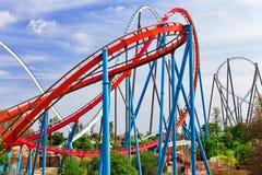 Roller Coaster. Royalty Free Stock Photos