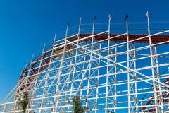 Roller coaster gigante do Dipper em Belmont Park foto de stock