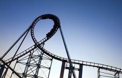 Roller Coaster Great Loop Royalty Free Stock Photos